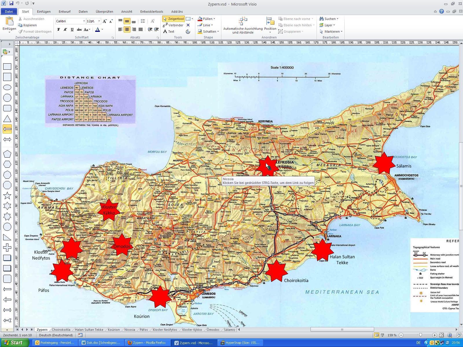 export in pdf mit lesezeichen visio training